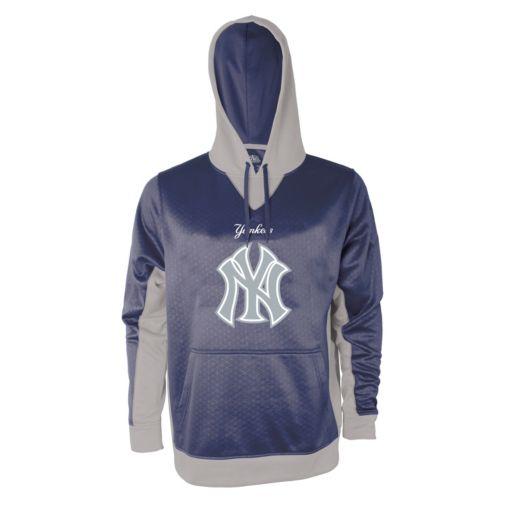 Men's Stitches New York Yankees Embossed Logo Hoodie