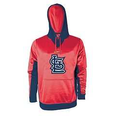 Men's Stitches St. Louis Cardinals Embossed Logo Hoodie