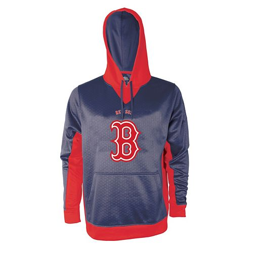 Men's Stitches Boston Red Sox Embossed Logo Hoodie