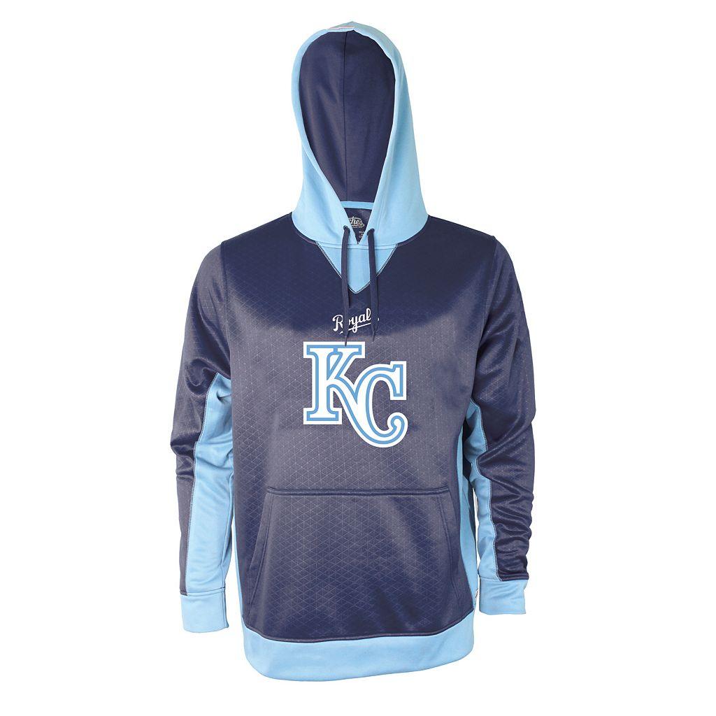 Men's Stitches Kansas City Royals Embossed Logo Hoodie