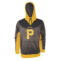 Men's Stitches Pittsburgh Pirates Embossed Logo Hoodie