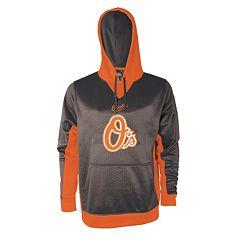 Men's Stitches Baltimore Orioles Embossed Logo Hoodie