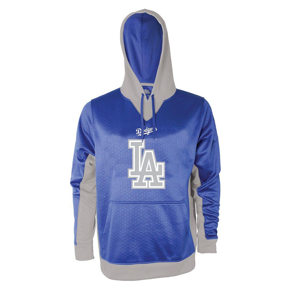 Men's Stitches Los Angeles Dodgers Embossed Logo Hoodie