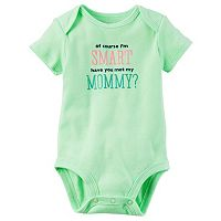 Baby Girl Carter's Family Graphic Bodysuit