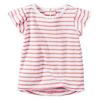 Toddler Girl Carter's Flutter Sleeve Striped Top