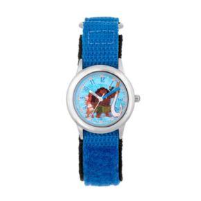 Disney's Moana, Pua, Heihei & Maui Kids' Stainless Steel Time Teacher Watch