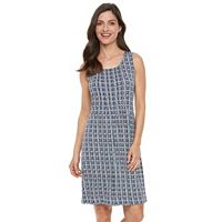 Women's Croft & Barrow® Pintuck Shift Dress