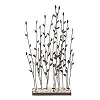 Metal Willow Garden Table Decor