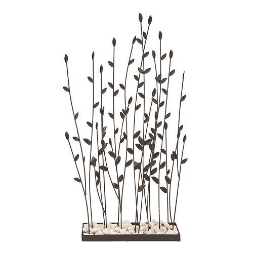 Metal Willow Garden Table Decor