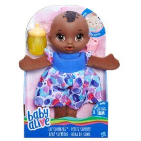 Baby Alive Lil' Slumbers Dark Hair Baby Doll