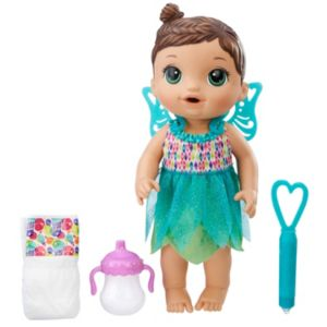 Baby Alive Brunette Face Paint Fairy Doll by Hasbro