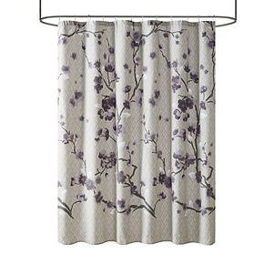 Madison Park Isabella Cotton Shower Curtain