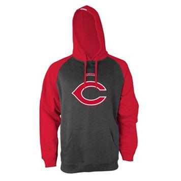 Men's Stitches Cincinnati Reds Fleece Hoodie