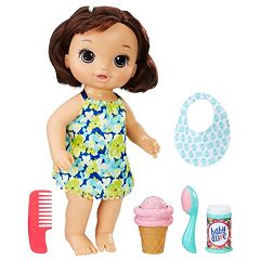 Baby Alive Brunette Magical Scoops Baby Doll by Hasbro