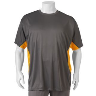 Big & Tall Russell Dri-Power Bridseye Contrast Performance  Athletic Tee
