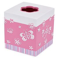 Kassatex Kassa Kids Butterfly Tissue Holder