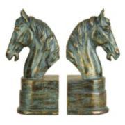 Horse Bookends 2-piece Set