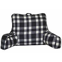 Simple By Design Buffalo Plaid Backrest Pillow