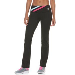 Women's FILA SPORT® Contrast Straight Leg Pants