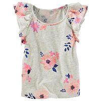 Toddler Girl OshKosh B'gosh® Floral Slubbed Top