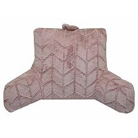 Simple By Design Broken Arrows Faux Fur Backrest Pillow