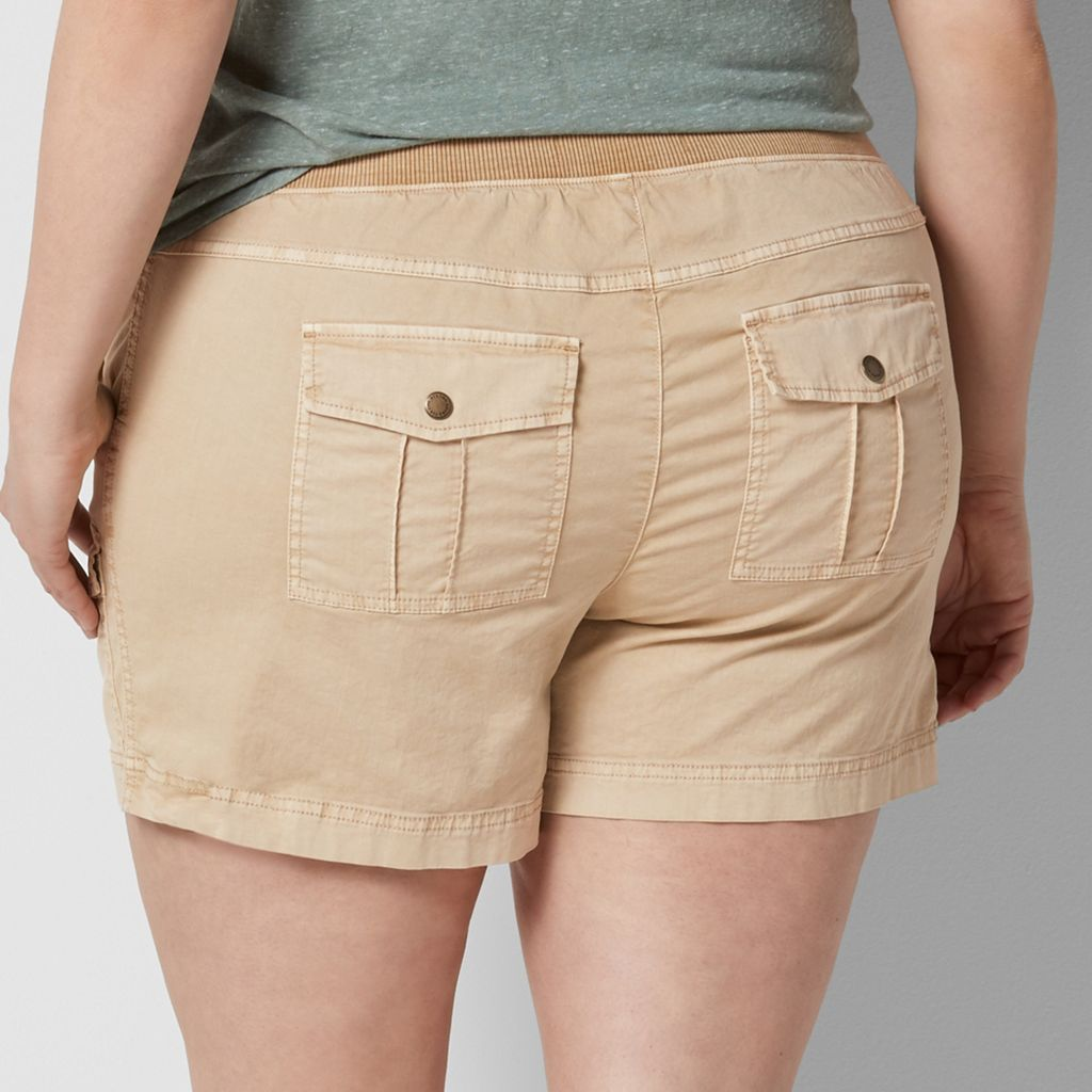 Plus Size SONOMA Goods for Life™ Comfort Waist Cargo Shorts