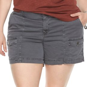 Plus Size SONOMA Goods for Life? Comfort Waist Cargo Shorts