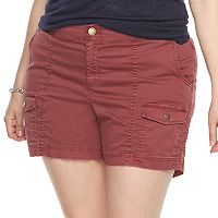 Plus Size SONOMA Goods for Life™ Comfort Waist Cargo Shorts