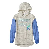 Girls Plus Size SO® Graphic Fleece Hoodie