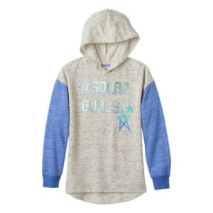 Girls Plus Size SO® Graphic Fleece Hoodie