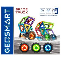 Geosmart 39 pc Space Truck Set