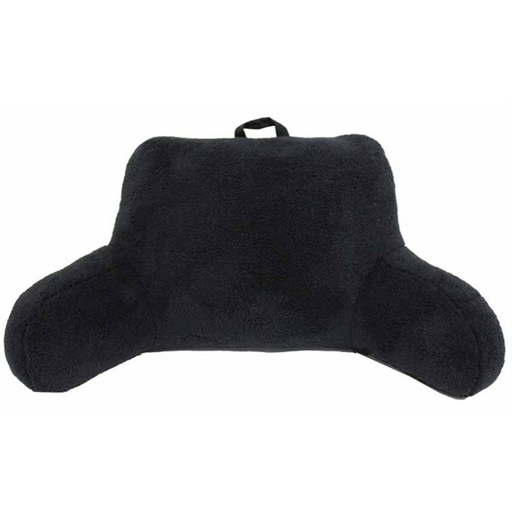 Simple By Design Microfiber Sherpa Backrest Pillow