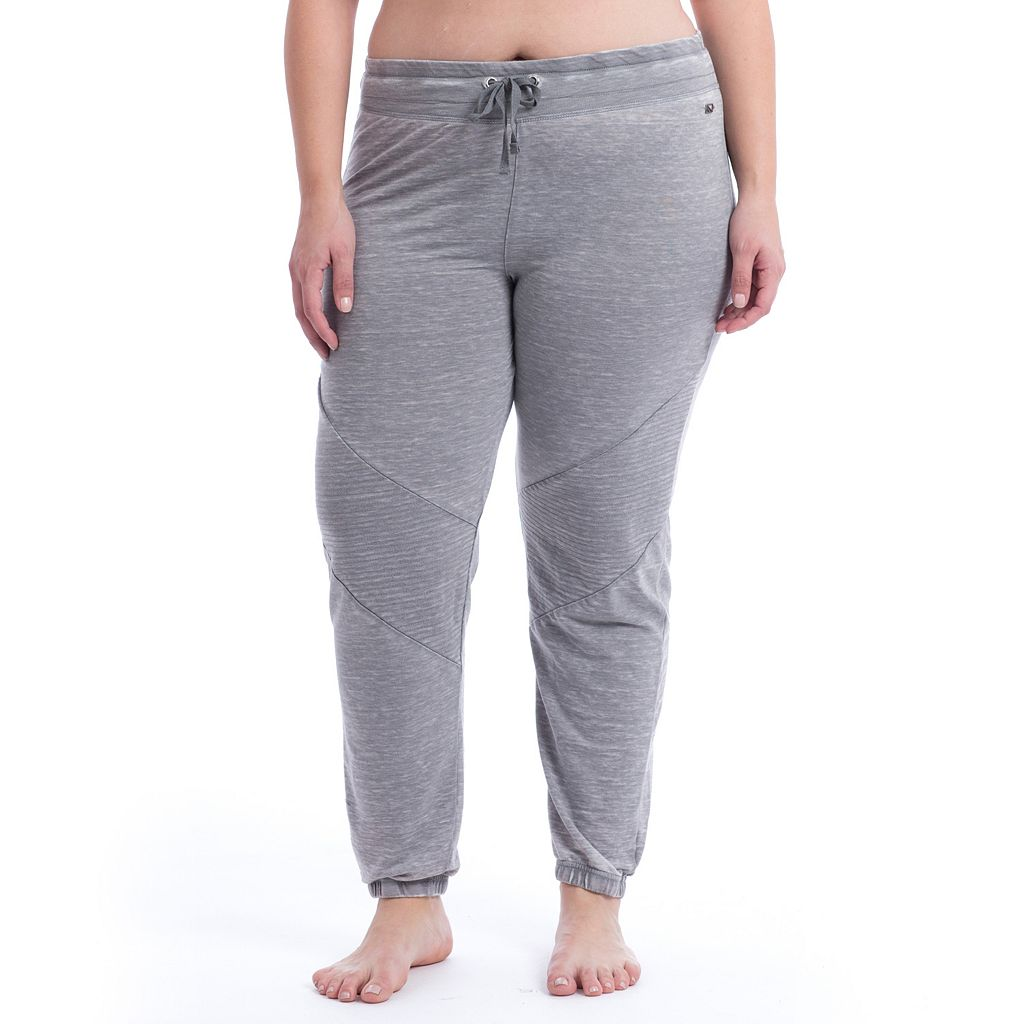 Plus Size Marika Curves Quilted Jogger Pants