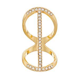 Jennifer Lopez Vertical Bar Double Ring