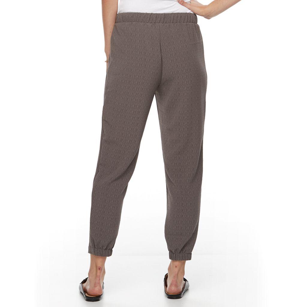 Petite Apt. 9® Zippered Jogger Pants