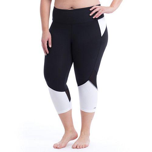 Plus Size Marika Curves Ava Progressive Capris