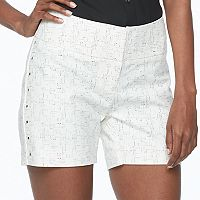 Women's Apt. 9® Embellished White Shorts