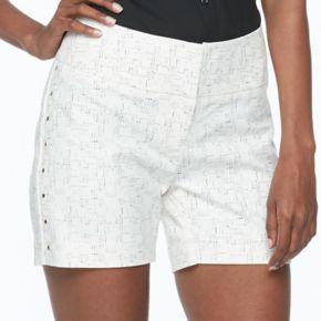 Women's Apt. 9® Embellished White Shorts
