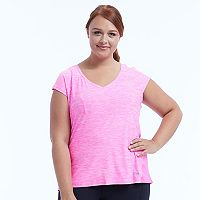 Plus Size Marika Charged V-Neck Tee