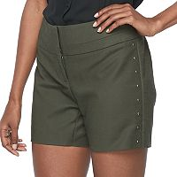 Women's Apt. 9® Wide-Waist Midi Shorts