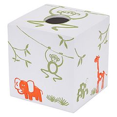 Kassatex Kassa Kids Jungle Tissue Holder