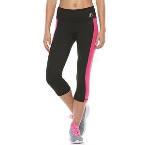 Women's FILA SPORT® Contrast Side Panel Capri Leggings
