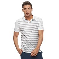Big & Tall Tek Gear® DRY TEK Core Striped Performance Polo