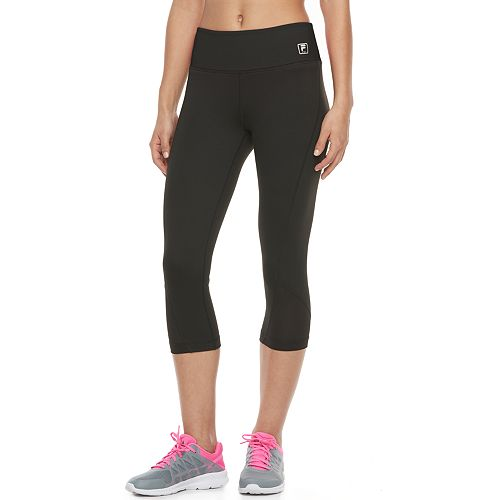 67b1203263883 Women's FILA SPORT® Mesh Inset Capri Leggings