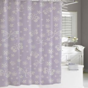 Kassatex Kassa Kids Butterfly Shower Curtain
