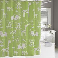 Kassatex Kassa Kids Jungle Shower Curtain