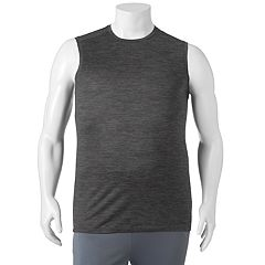 Big & Tall FILA SPORT® Tru-Dry Space-Dyed Performance Muscle Tee