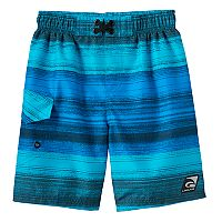 Boys 4-7 Laguna Swim Santa Cruz Stripe Swim Trunks