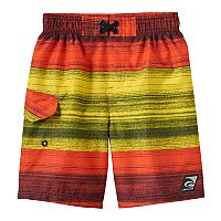 Boys 4-7 Laguna Swim Santa Cruz Stripe Swim Trunks
