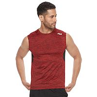 Big & Tall FILA SPORT® Fitted Tru-Dry Fitted Space-Dyed Base Layer Performance Tee